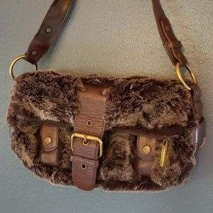 Kenneth Cole fur purse
